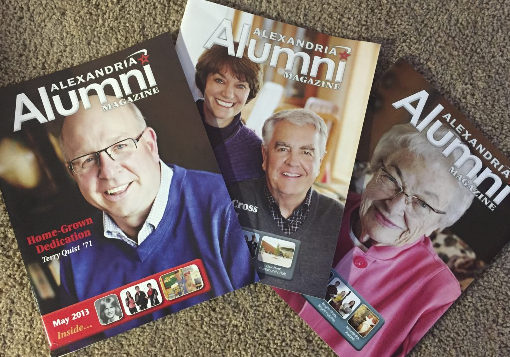 Alexandria Alumni Annual Magazine