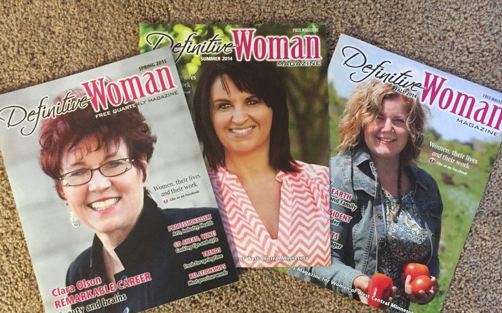 Definitive Woman Quarterly Magazine