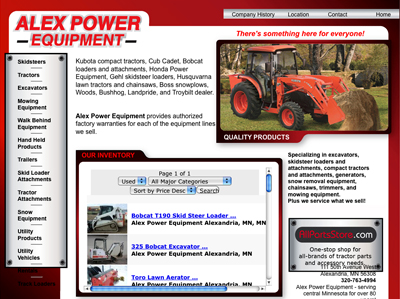 Alex Power and Equipment