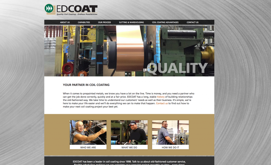 EDCOAT Website