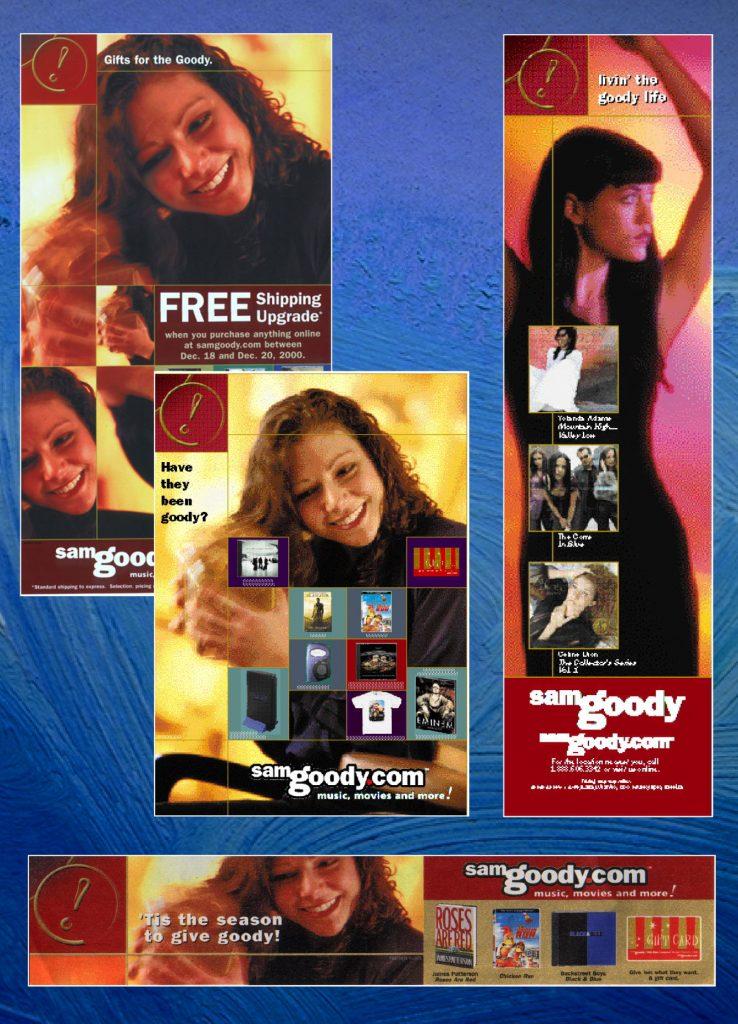Sam Goody Ad Campaigns