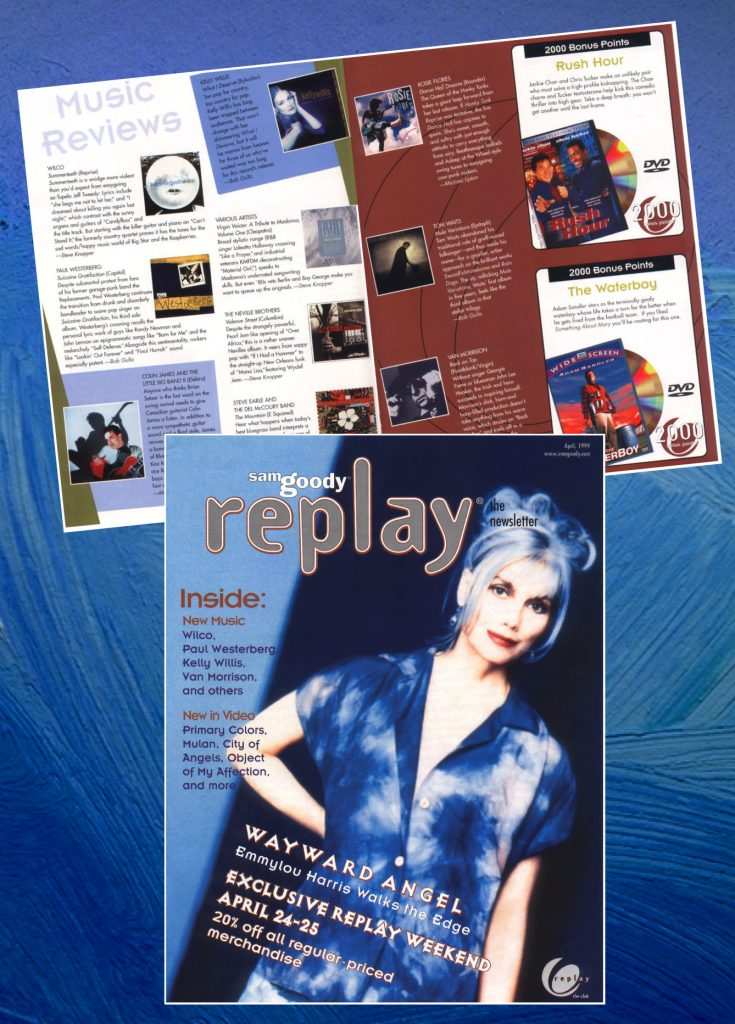 Replay newsletter publication