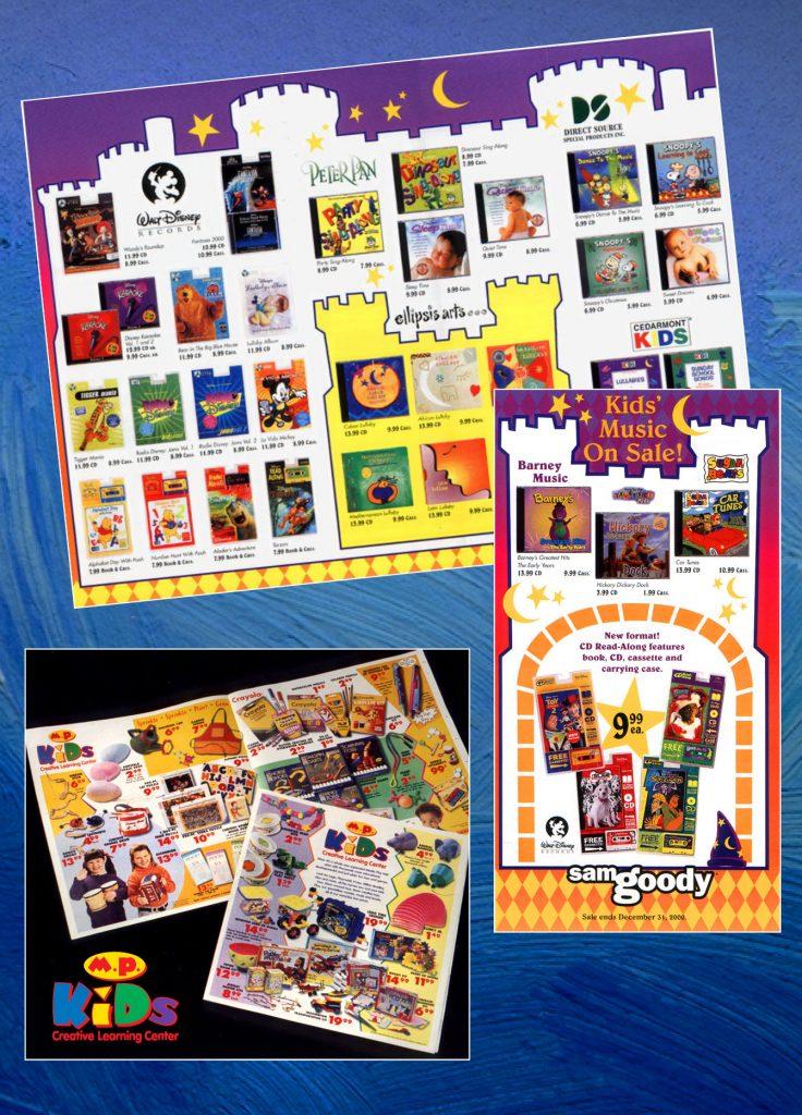 Media Play kids department sales DMPs