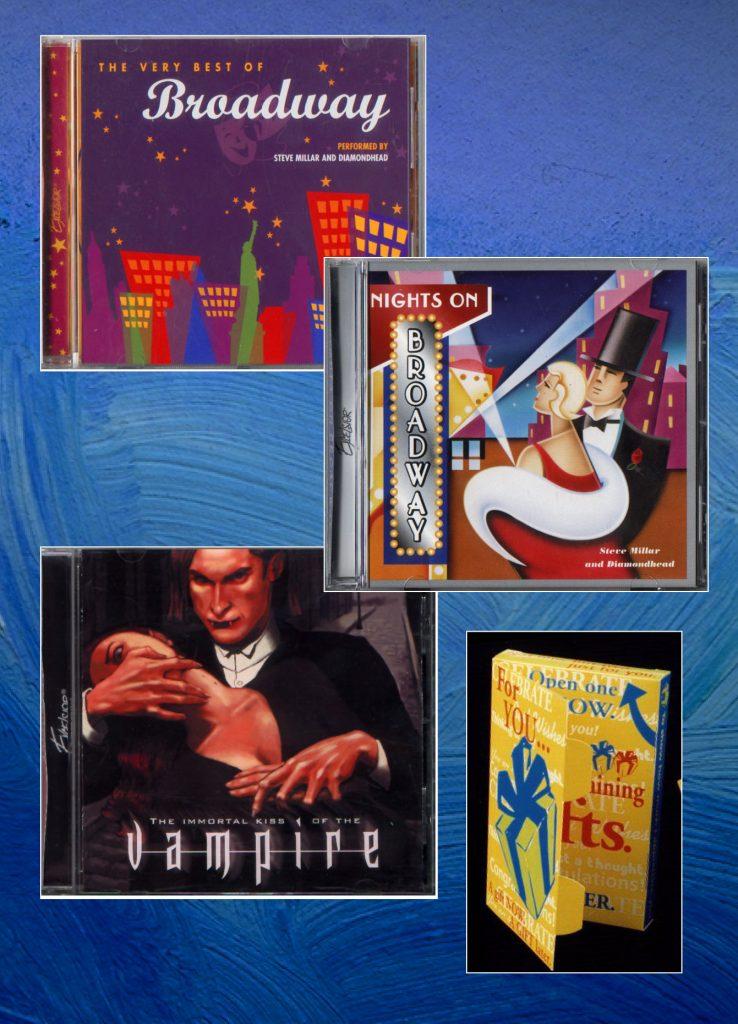 Xcelsior Records package design