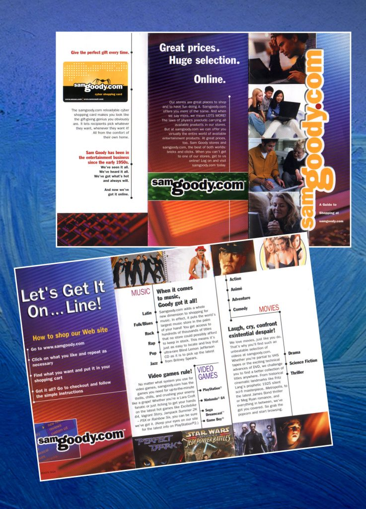 SamGoody.com Brochure