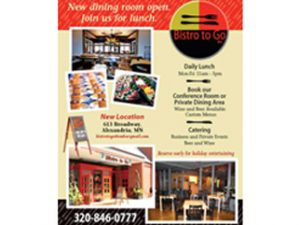 Bistro To Go Ad