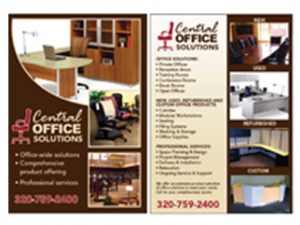 Central Office Solutions Post Card DMP