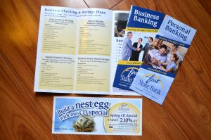 1st State Bank Brochures