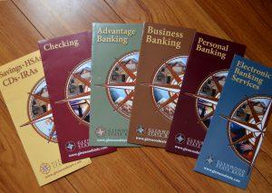 Glenwood state Bank Brochure Design