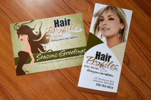 Hair Profiles Brochure, DMP and Logo Design