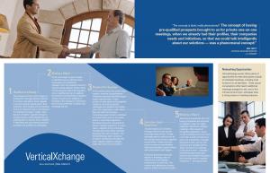 Vertiucal Exchange Event Brochure