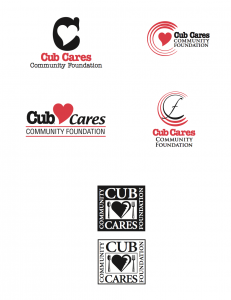 Cub Cares Logo Options
