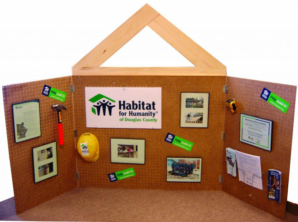 Habitat for Humanity Tradeshow Display