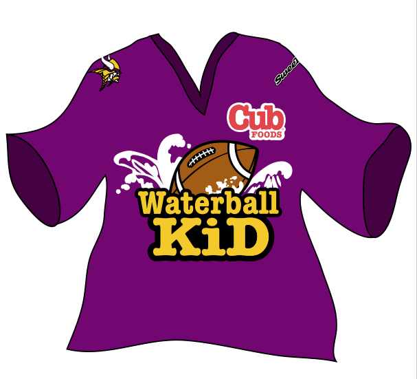 MN Vikings Cub Sponsored jersey