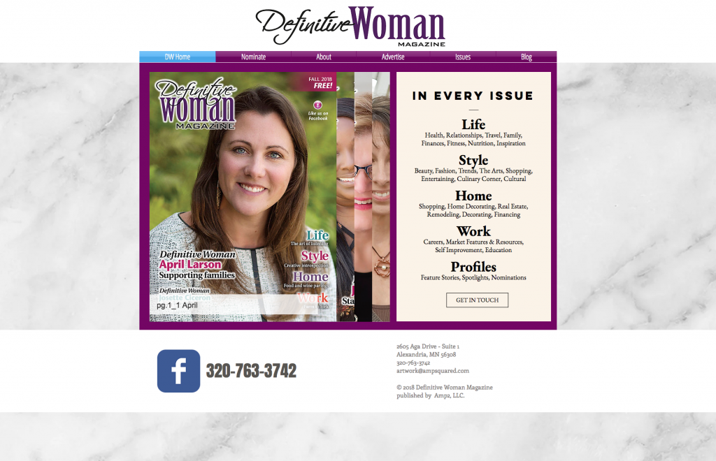 Definitive Woman Magazine
