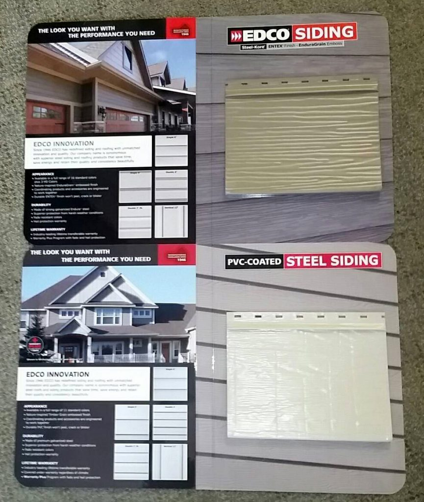 Contractor's Siding Sample Kit